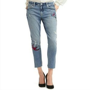 GAP Best Girlfriend Butterfly Embroidered Jean 30